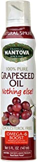 Mantova 100% Flaxseed Oil Spray 5 oz. Spray Bottle - Manage Oil Amount - Great For Salads & Cooking