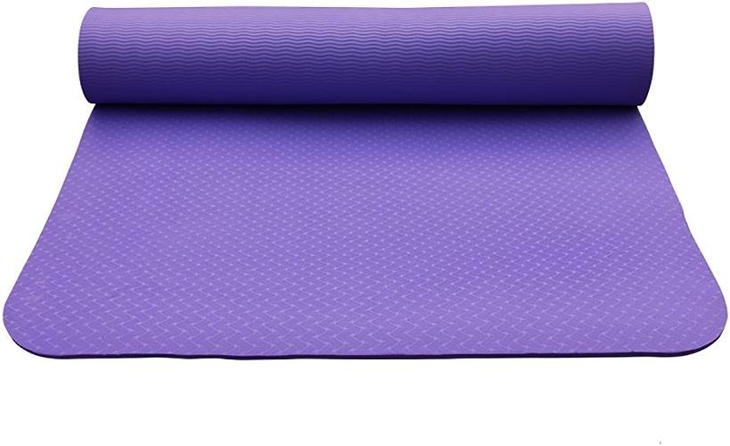 LiuJianQin YJD Tapis de Yoga Tapis de Yoga Insipide Anti-dérapant élargir Le Tapis d'exercice de TPE épaissi de Forme Physique   183  61CM (Couleur   D)