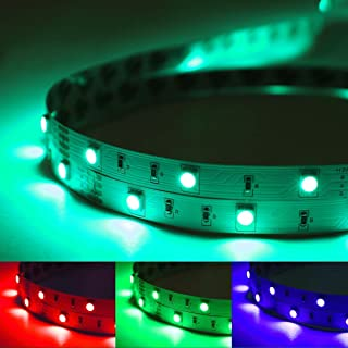 LED Strips Lights 5 Meters waterproof [Full Kit]. Colour Changing Tape with 24 Key Remote and 12v Power Supply. Mood Light...