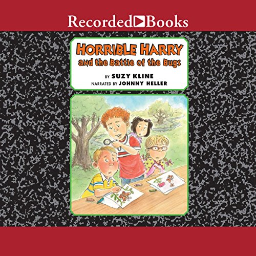 Horrible Harry and the Battle of the Bugs audiobook cover art
