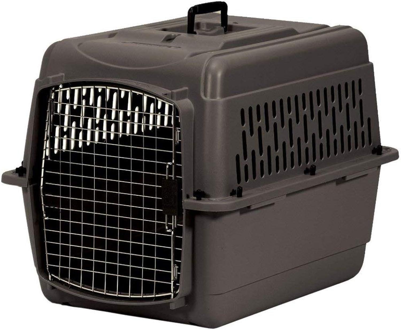 Aspen Pet Pet Porter Plastic Kennel, 2530 Pounds, Nutmeg