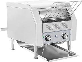 Royal Catering Toaster Grille-Pain Convoyeur Professionnel RCKT-1940 (7 niveaux de vitesse, 3 paramètres de cuisson, 2.200...