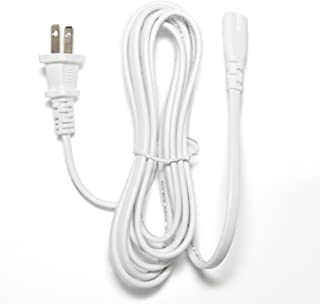 Omnihil 8 Feet AC Power Cord Compatible with Apple Airport Extreme/Time Capsule - 2TB / 3TB Express Power Supply Charger Cord (White)