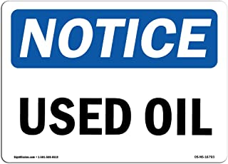 used oil signs