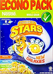 Nestlé Honey Stars Cereal with Whole Grain, 500g