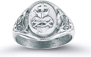 sacred heart of jesus ring