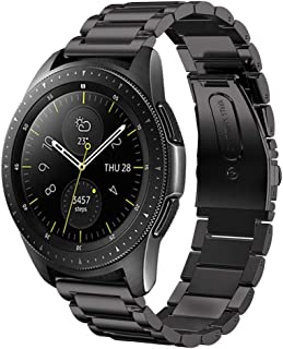 Minfex Compatible with Samsung Galaxy Watch Bands 42mm/46mm, 20mm/22mm Stainless Steel Replacement Band Accessory Strap for Samsung Galaxy Watch SM-R810/SM-R800