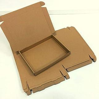 1 Pack de 25 Cajas de Cartón Automontables para Envíos.
