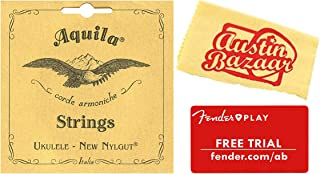 Aquila Baritone Ukulele Strings - 1 Pack with Fender Play Online Lessons