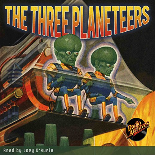 The Three Planeteers audiobook cover art