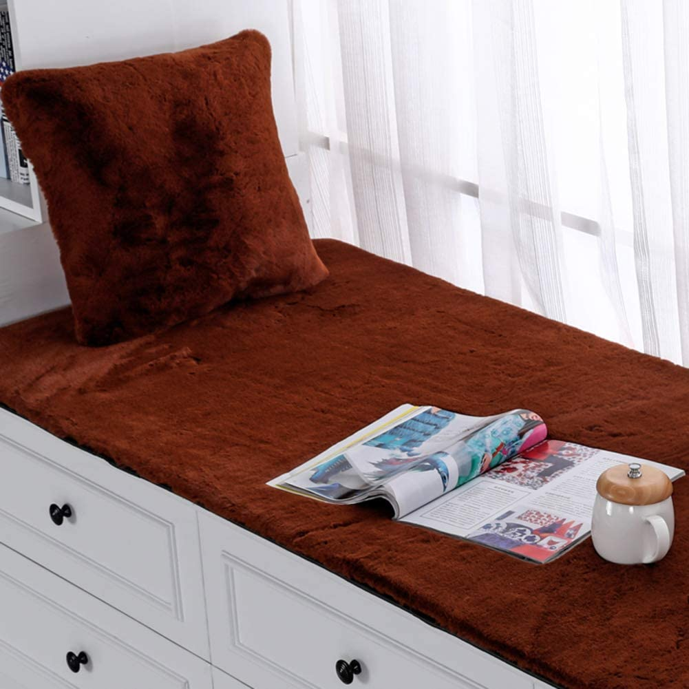 High quality DMXJ Thickened Selling Plush Window Bay Cushion Non-Slip
