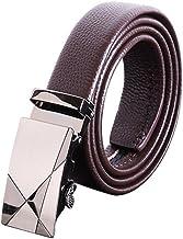 Men's Belt Classic Dress Leather Belt Regular Big Casual (Size : XXL)