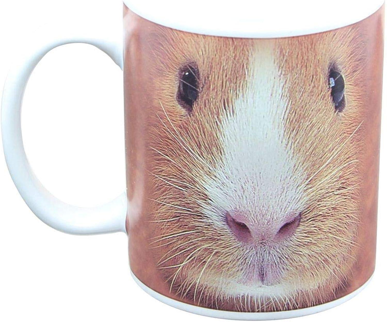 Just Funky Guinea Pig Face 11oz Coffee Mug