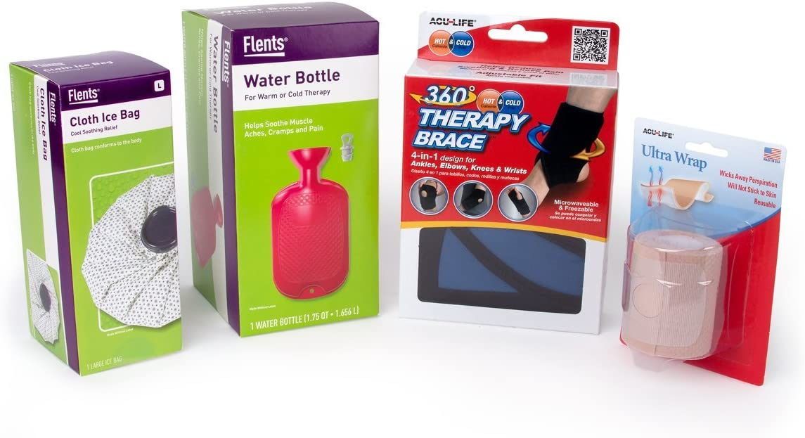 Flents Hot Bargain sale Cold Therapy Kit With Discount mail order Ice Bag Cloth Bottle Water