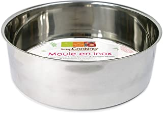 Scrapcooking 1901 Moule, Acier Inoxydable, Inox, 18 cm