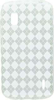 MyBat Argyle Candy Skin Cover for LG E960 (Nexus 4) - Retail Packaging 透明