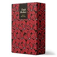 シガレットケースHard Box Full Pack Cigarette Case/Regular Size/Hand Made in Korea/Leather Paper Case and Pattern Printed Case (SCARLET) [並行輸入品]