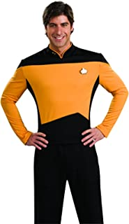 Star Trek The Next Generation Deluxe Science Officer Adult Costume Shirt