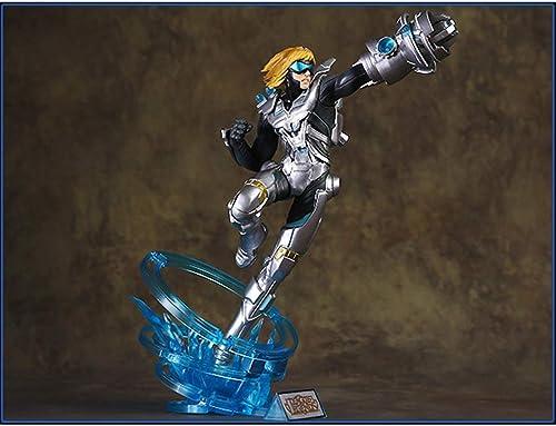 HNLJ Future Warrior Toy Toy Statue Ligue De Legends Toy Modèle Jeu voitureactères Artisanat   30CM Décoration Souvenir Statues