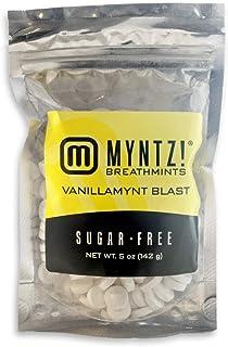 Vanillamynt Blast Mints - Myntz Breathmints - 5oz Pouch (Pack of 8)