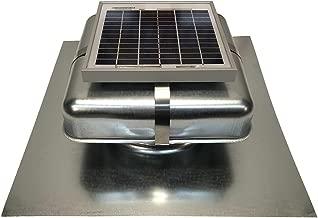 Solar Roof Vent - Solar Attic Fan - Solar RoofBlaster with Galvanized Vent