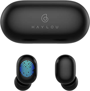 True Wireless Earbuds,Haylou GT1 Bluetooth 5.0 Sports HD Stereo Touch Control Ear Buds with IPX5 Waterproof/Fast Connectio...