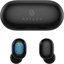 Wireless Earbuds,Haylou GT1 Bluetooth 5.0 Sports HD Stereo Touch Control Earbuds with IPX5 Waterproof/Fast Connection/Mini...