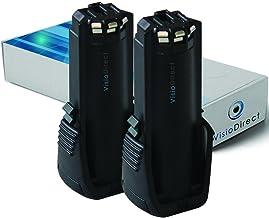 PS10 pour outil Bosch 36019A2010 SPS10 vhbw Batterie 2000mAh GSR Mx2Drive SPS10-2 comme 2 607 336 242 GSR PRODRIVE 3.6V BAT504.