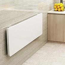 SYLTL Składany stół warsztatowy, montowany na ścianie, stół warsztatowy, do małych pomieszczeń, biurko, do domu, kuchni, z...