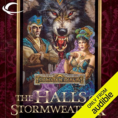 The Halls of Stormweather audiobook cover art