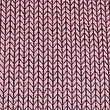 Hamburger Liebe Hipster Square Knit Knit Jacquard-Jersey