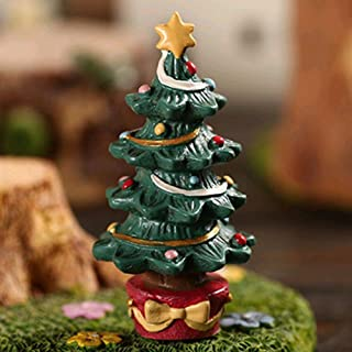ETbotu Aquarium Decor Fish Tank Aquarium Ornament Resin Crafts Cartoon Christmas Series Landscaping Decor -Christmas Tree