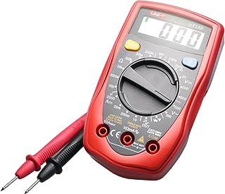 يوني-تي، جهاز قياس متعدد رقمي مع شاشة ال سي دي بحجم راحة اليد، اي سي/دي سي/اوم/فولت، UT33B