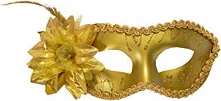 Jeash Halloween Sexy Lace Mask with Flower Carnival Mask Venetian Masquerade Masks Mardi Gras Party Costume Festival Party Halloween Porps