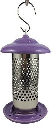 Heath Outdoor Products 21528 Bird Stop Jr. Decorative Feeder, Purple