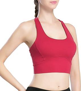 Zhhlaixing Women Fitness Running Exercise ヨガ Bra Top Aerobics スポーツ Vest LWQ-0099