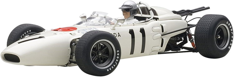 AUTOart–Fahrzeug–Honda RA 272–F1–Winner Mexico GP 1965, 86599, wei rot, Mastab 1 18