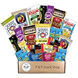 Healthy Non-GMO Snack Box (30 CT). Healthy Care Package: Chips, Cookies, Snack Bars, Fruit Snacks,...