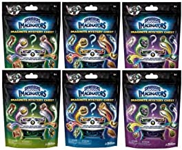 NEW! 6 Pack: Skylanders Imaginators Imaginite - Mystery Chest - Collect, Create and Play -- Get 2 of Each Color Mystery Bag