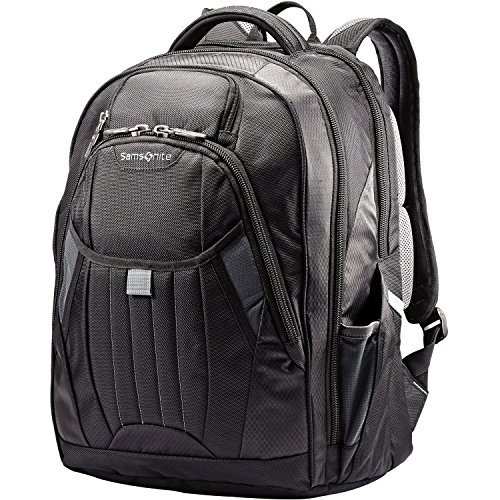 Samsonite Tectonic 2 Large Backpack, Black, 18 x 13.3 x 8.6