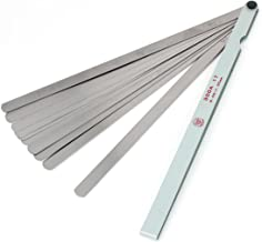 uxcell 300mm Long 0.02-1.00mm Thickness Metric Measure Gage Feeler Gauge