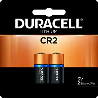 Duracell – CR2 3V Ultra Lithium Photo Size Battery – long lasting battery – 2 count
