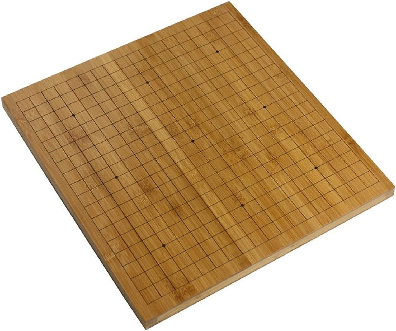 venta al por mayor barato LYQZ 2 cm Bamboo Wood Go Checkerboard Doble Cochea de de de Doble Uso  precios ultra bajos
