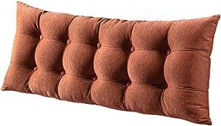 Oreillers de Corps compensés Jet décoratif Grand de lit for Le Soutien du Dos lit de Jour lit superposé canapé Coussin (Co...