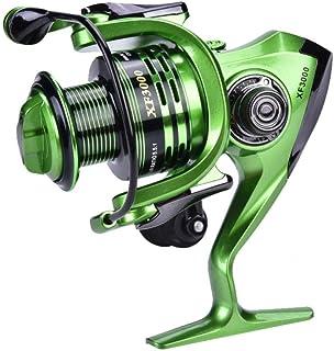 comprar comparacion Dilwe Carrete de Pesca Carrete Giratorio Suave y Anticorrosión para Pesca en Agua Salada y Dulceacuícola