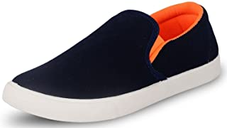 JABRA Pilot 5 Blue Orange Material Casual Shoes for Men in Various Sizes