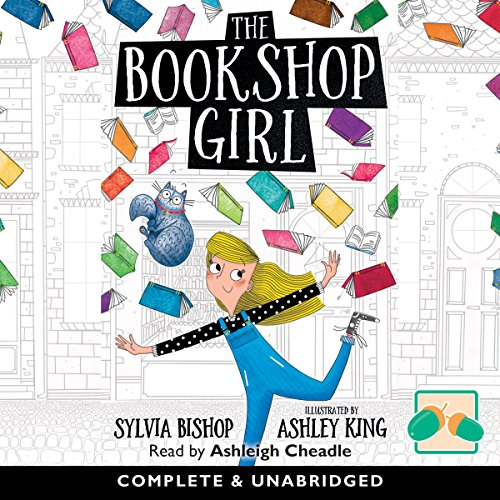 The Bookshop Girl audiobook cover art