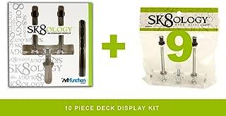 sk8ology floating skateboard deck display