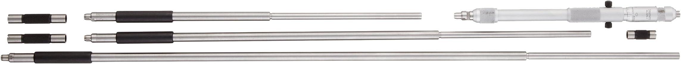 Starrett 824E Fixed Range Vernier Inside Micrometer 0.001 Graduation +//-0.0001 Accuracy 7-8 Range