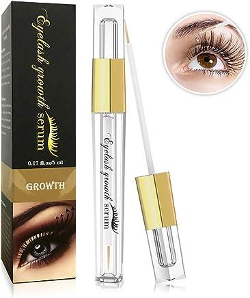 Eyelash Growth Serum- Natural Eyelash Growth Enhancer for Longer and Thicker, Fuller and Healthier Eyelash &Eyebrow - FDA Approved- No More False Eyelashes & Eyebrow Tattooing-5ml (black)